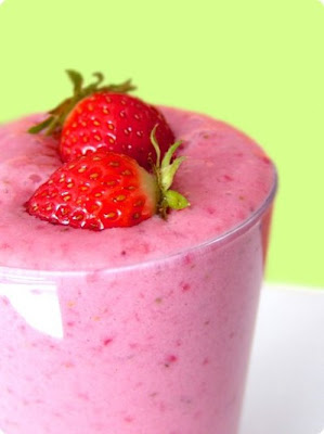 Tasty Fun Recipes - Strawberry Banana Orange Juice Smoothie