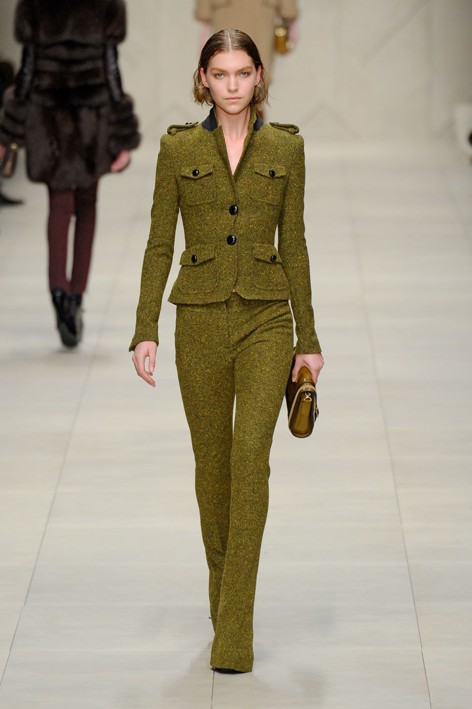 via fashioned by love | Burberry Prorsum Fall/Winter 2011
