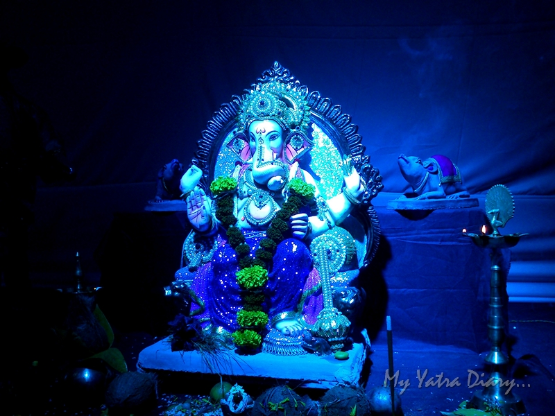 Eco friendly Lord Ganesha Pictures, Ganesh Pandal Hopping, Mumbai