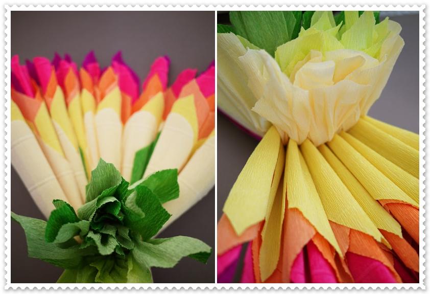 Видеоурок цветы из гофрированной бумаги