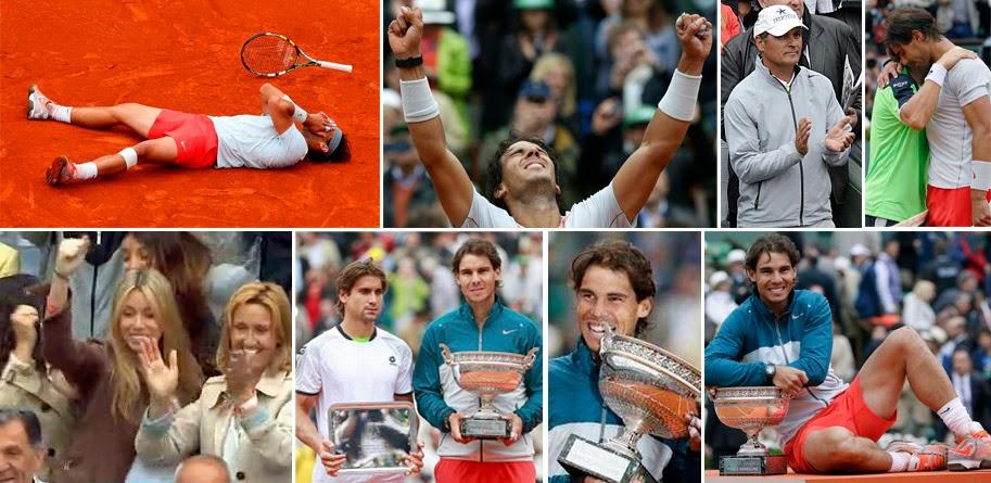David Ferrer, Rafa Nadal, Roland Garros 2013