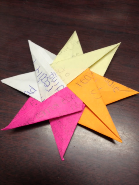 Origami 6 8 Point Star 1