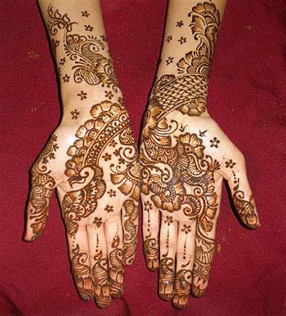 Arabic Hand mehndi Designs