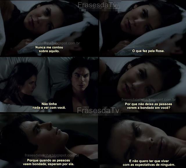 The Vampire Diaries frase