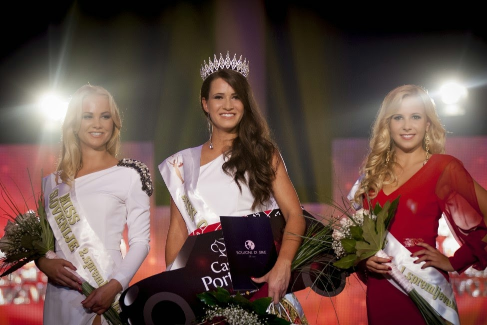 Julija Bizjak wins Miss Slovenije 2014