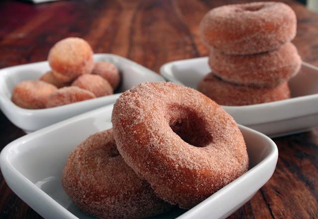 Homemade cake donut recipe
