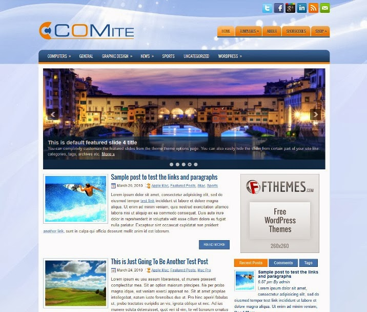 Comite - Free WordPress Theme