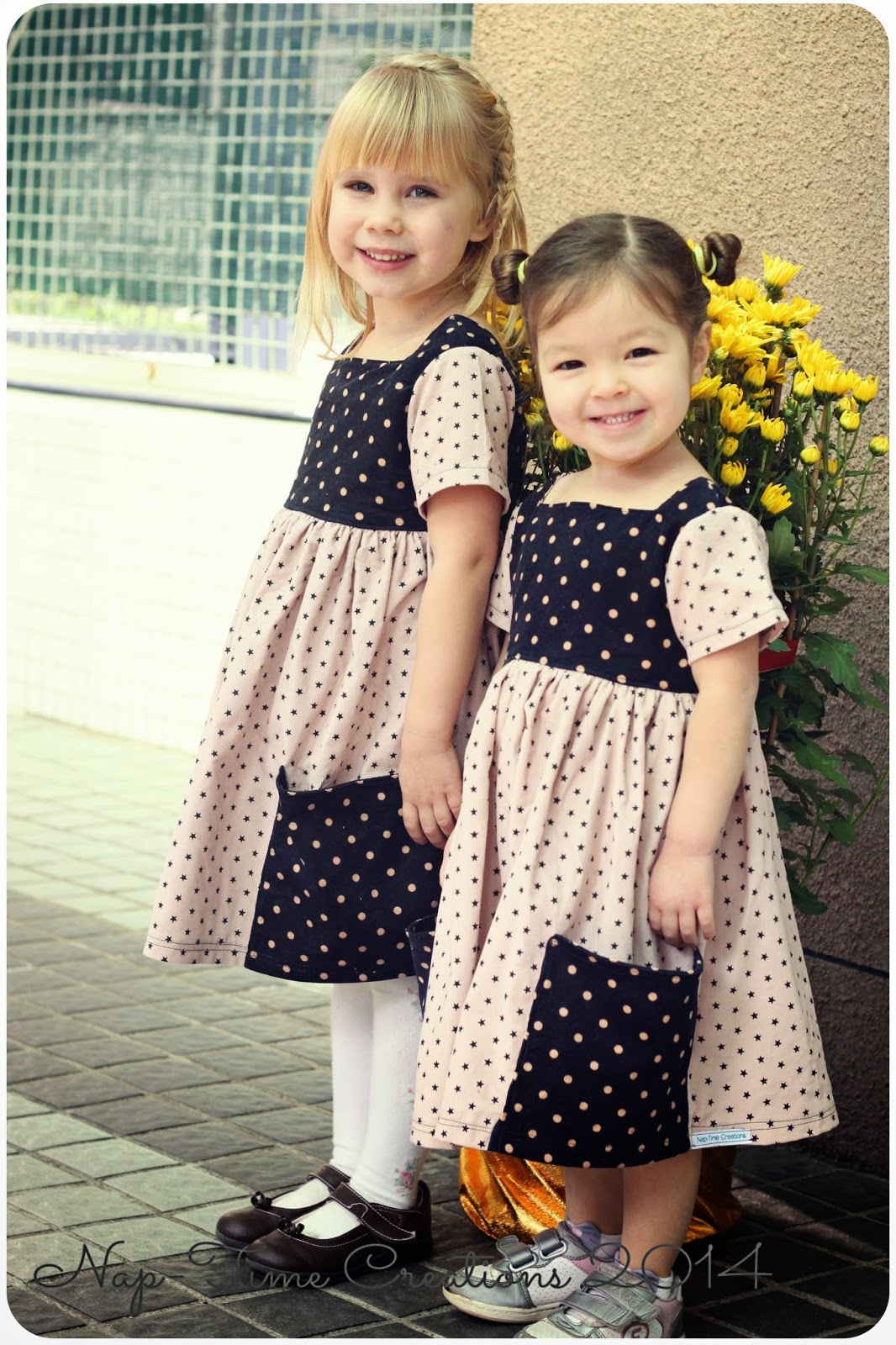 Sewing for girls sally dress