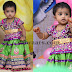 Pretty Kid in her B'day Lehenga