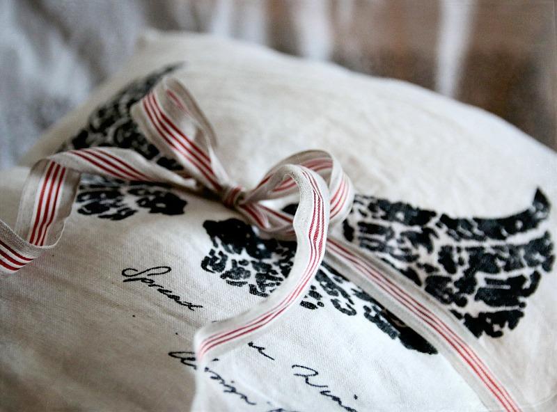 käsityö, pellavatekstiili, tyynynpäällinen, diy