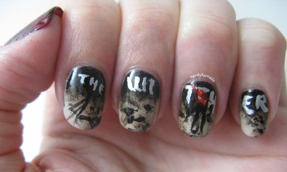 Nerdy for Nails: The Witcher (Video Game) Nails