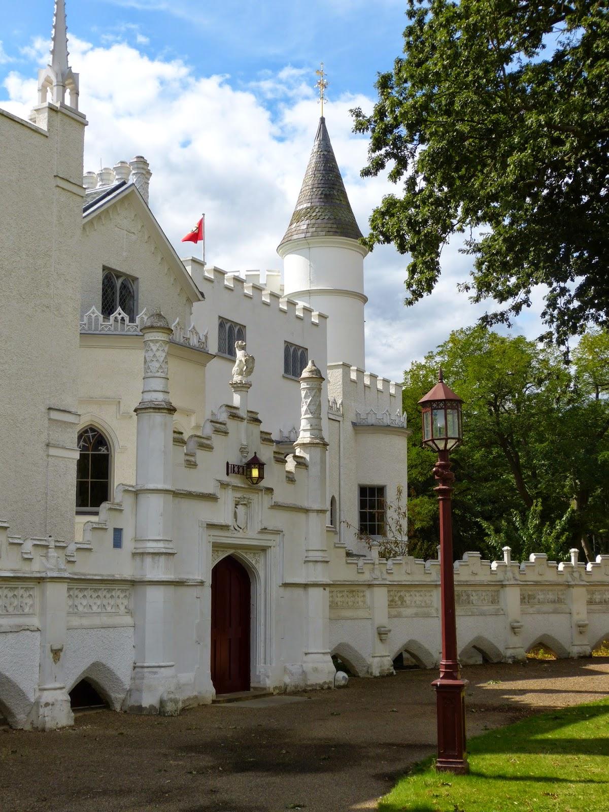Entrance gate, Strawberry Hill