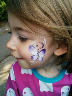 eldest face painted