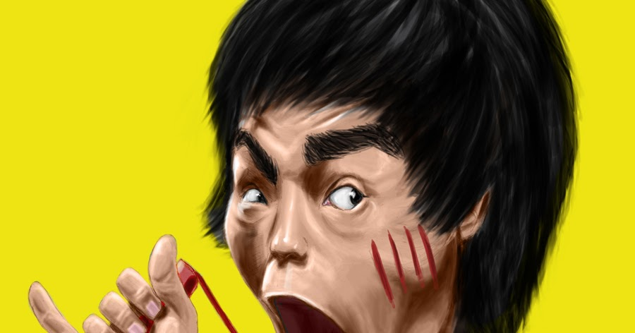 Caricature Bruce Lee  ...