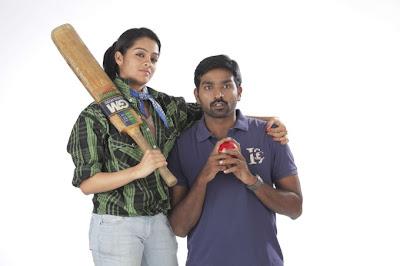 Hero Vijay Sethupathi & Herione Gayathri At Naduvula Konjam Pakkatha Kannum
