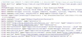 2 Langkah Mudah Melihat Source Code WebBlog