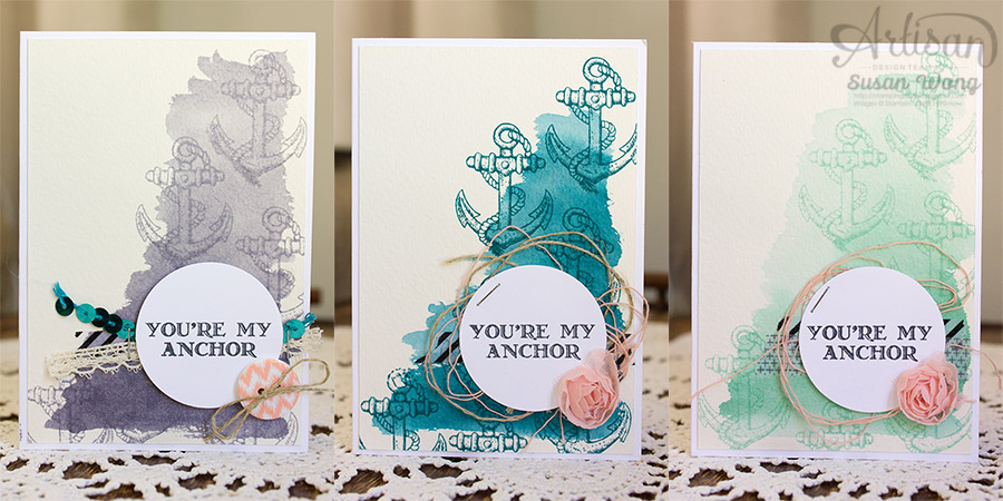 Guy Greetings 'You're My Anchor' Gift Set ~ Susan Wong