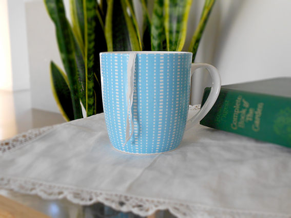 Make your own tea bags from recycled fabric