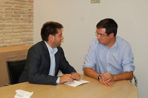 Reunión con Óscar López