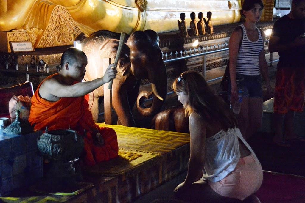 Watsuwankhuha Cave Phang Nga blessing