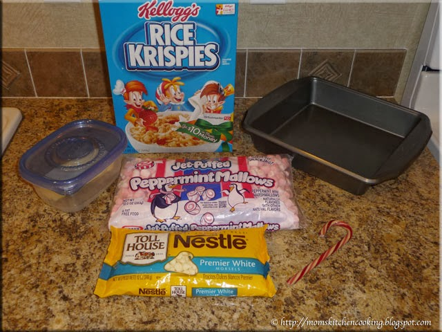 Christmas Crispies ingredients