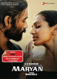Maryan movie poster.