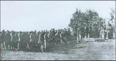 Богослужіння у Старокостянтинові, 1919 рік. Громадянська віійна