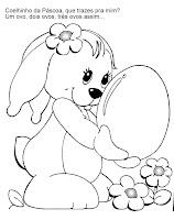 coelha com ovo gigante