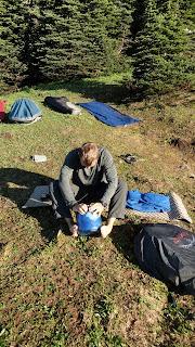 bivy sack camp