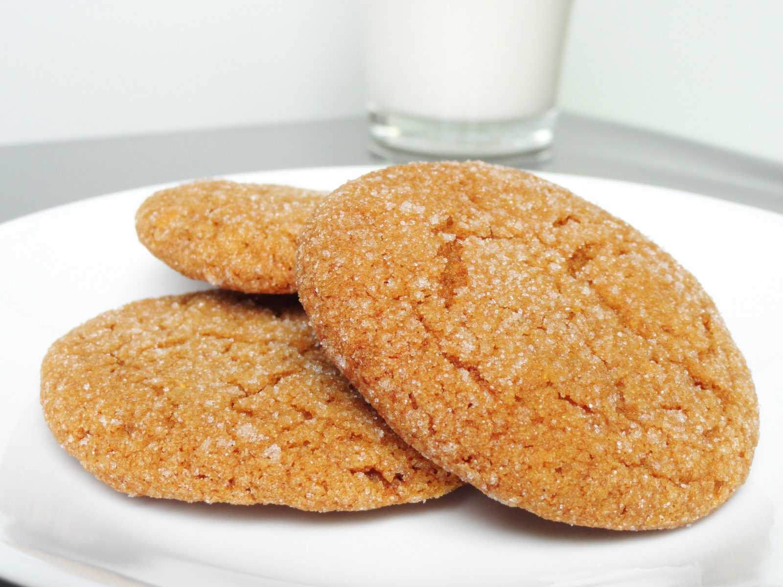 Molasses Cookies Recipe — Dishmaps