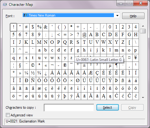 RockyRoer: Greek Letter Shortcuts in Microsoft Word