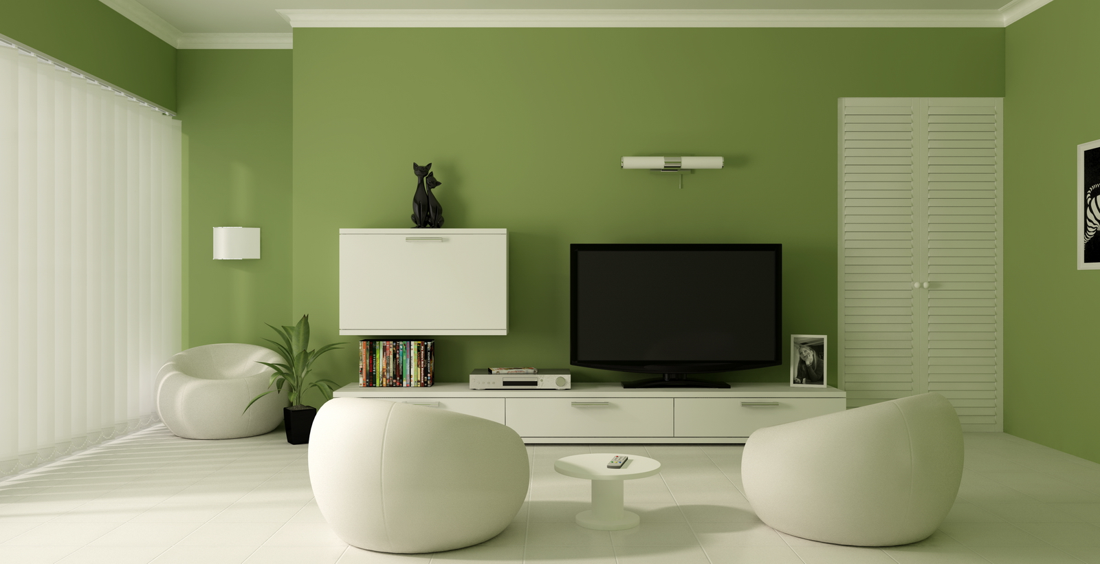 Living Room Wall Pleasing Of Green Color Paint Living Room Ideas Photo