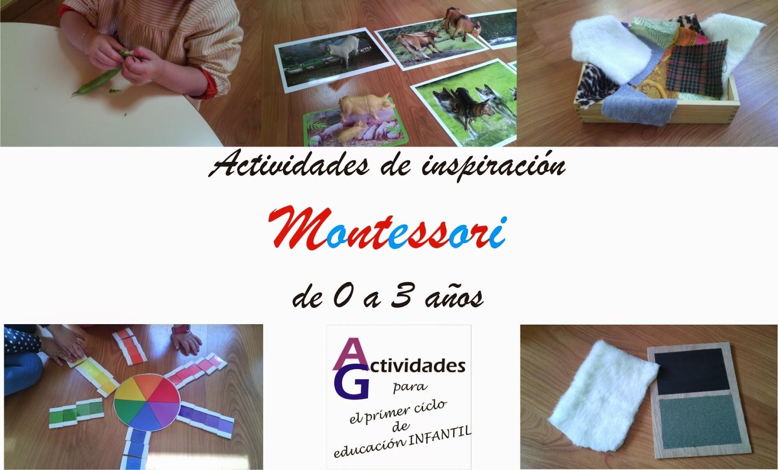 Actividades para el primer ciclo de Educación Infantil: Montessori 0 ...