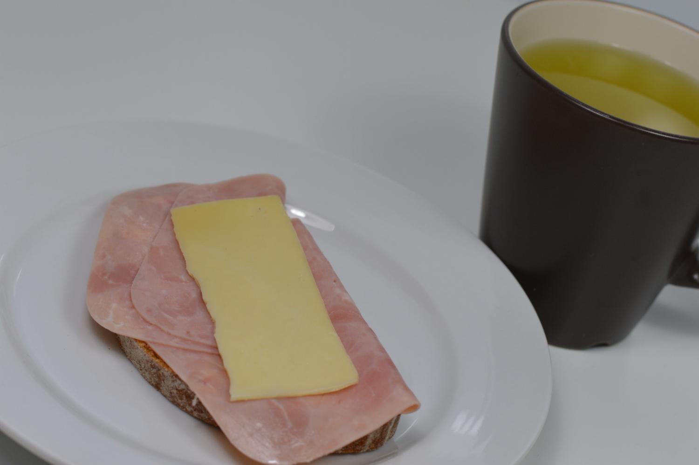 Ein Foto meines Frühstücks am Wochenende
