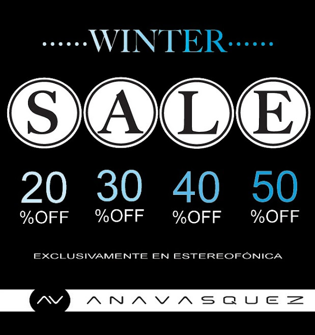 *** WINTER SALE ***