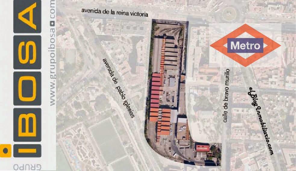 Venta Suelo Metro Madrid Cuatro Caminos elBlogInmobiliario.com