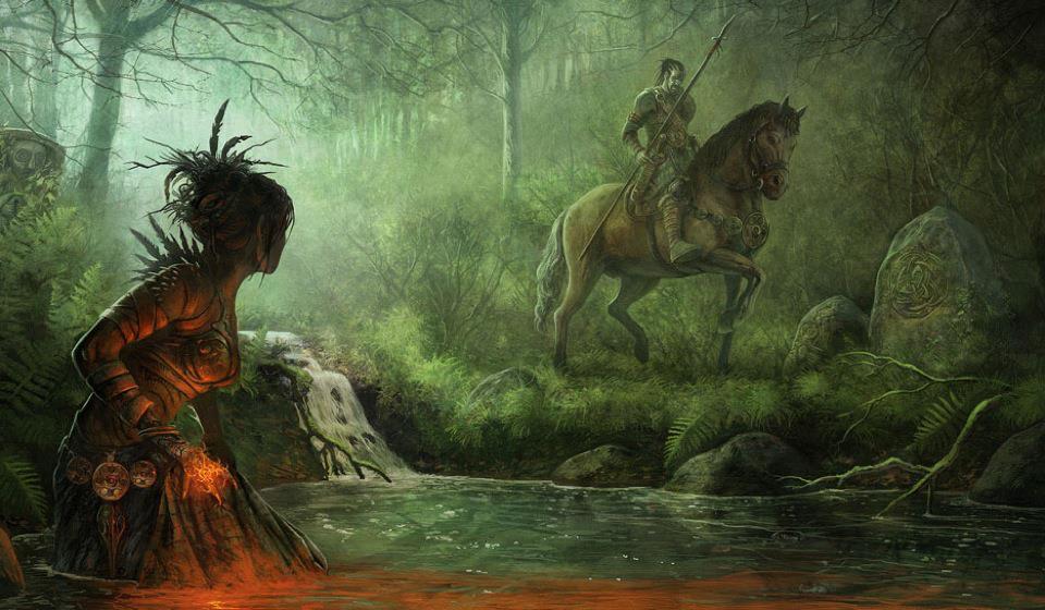 celtic druidesses
