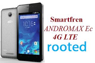 Cara Root Smartfren Andromax Ec 4G LTE Tanpa PC