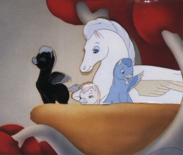 A family of centaurs in Fantasia 1940 animatedfilmreviews.blogspot.com