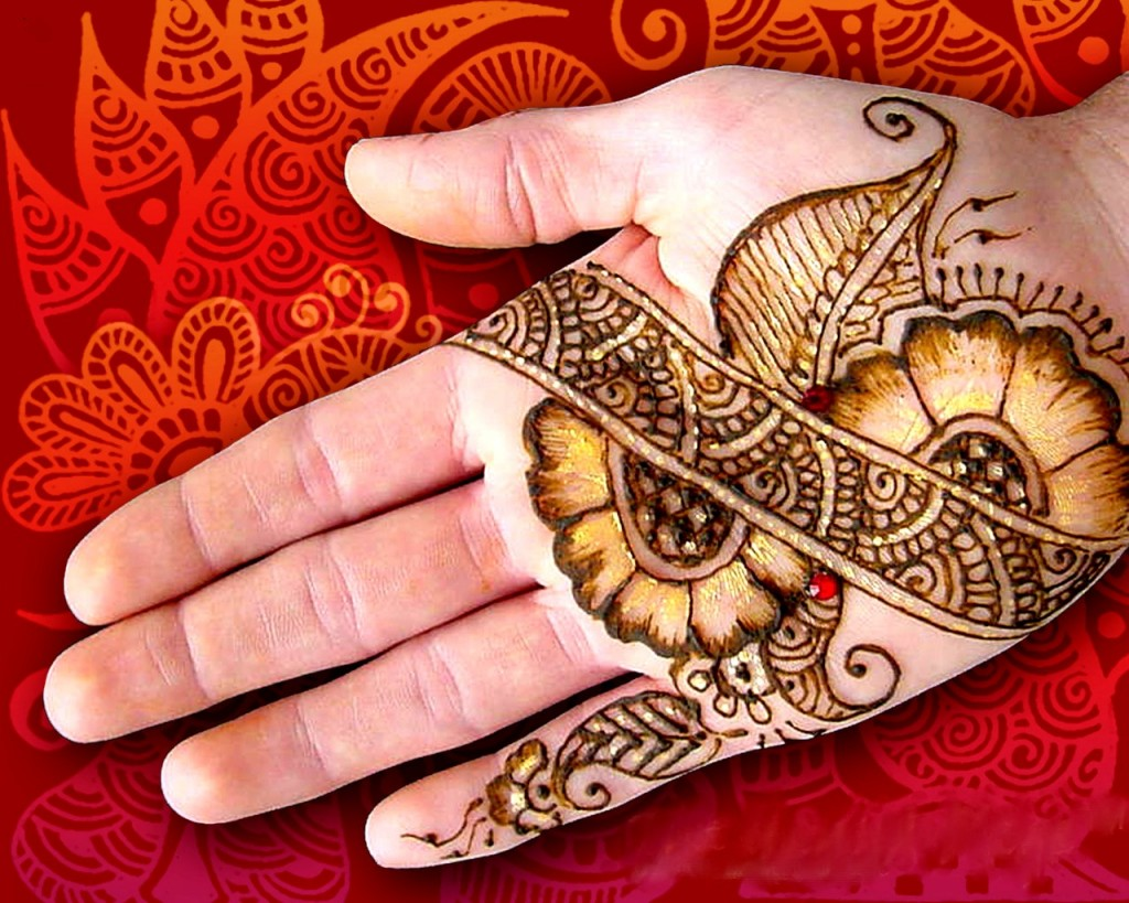 Beautiful Mehndi Hands Pics : Beautiful mehndi design for hands and feet beauty care