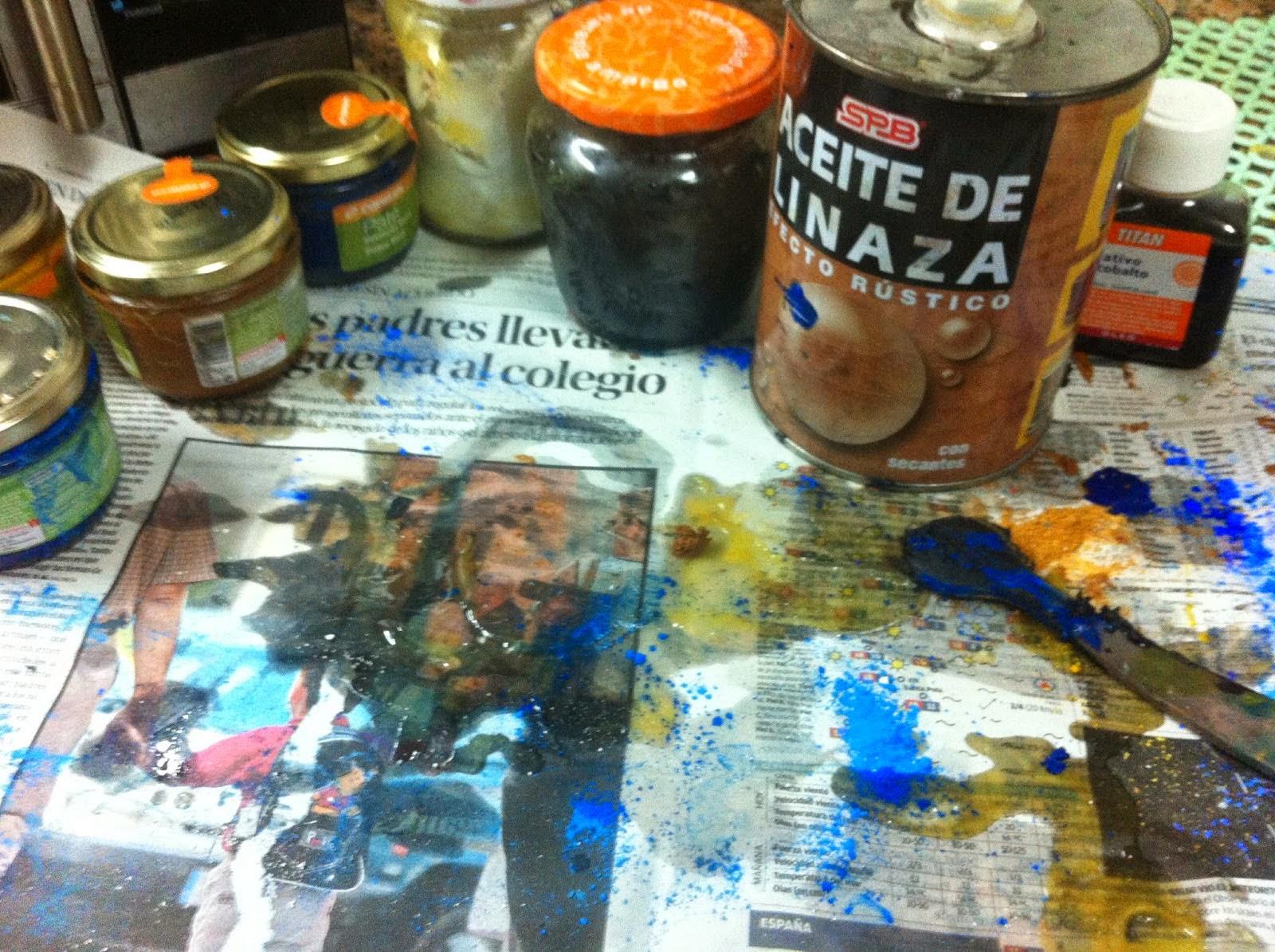 Trazo autodidacta como hacer tus propios oleos caseros - Como hacer pintura ...