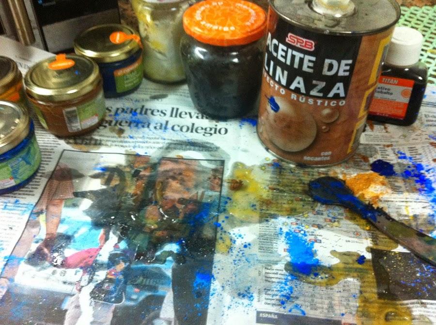 Pintura al aceite artesanal bricolaje - Pintura al aceite ...