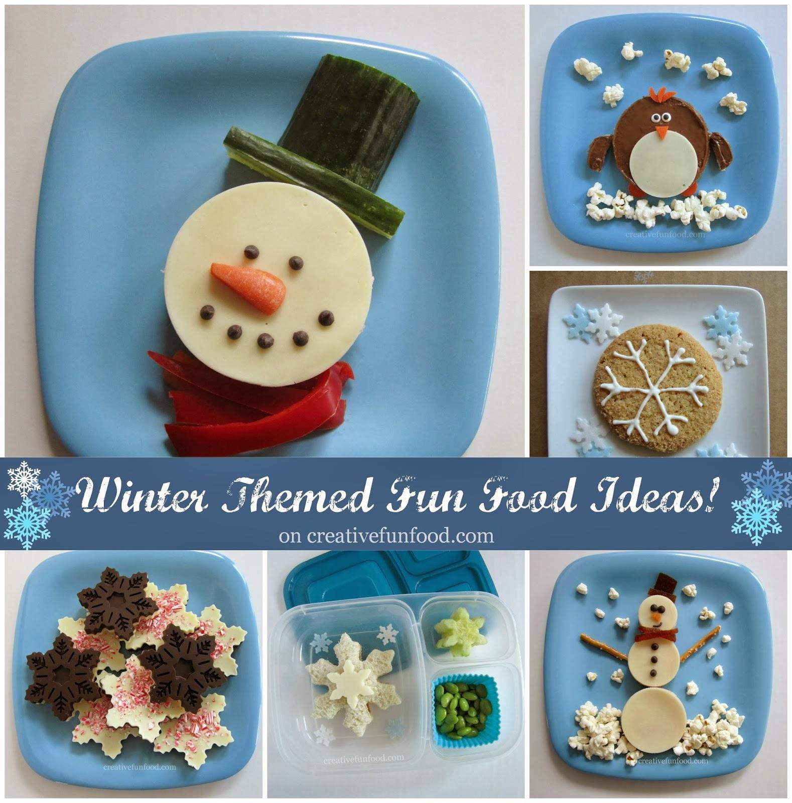 winter themed fun food ideas creative food