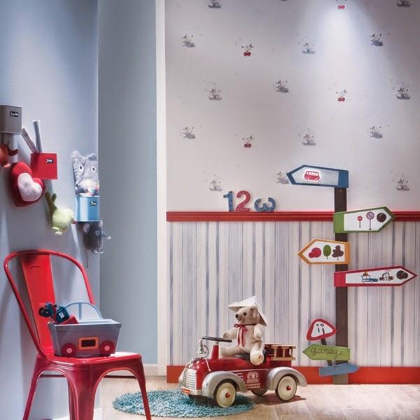 Papel pintado papel pintado infantil babies para bebes for Decoracion habitacion bebe papel pintado