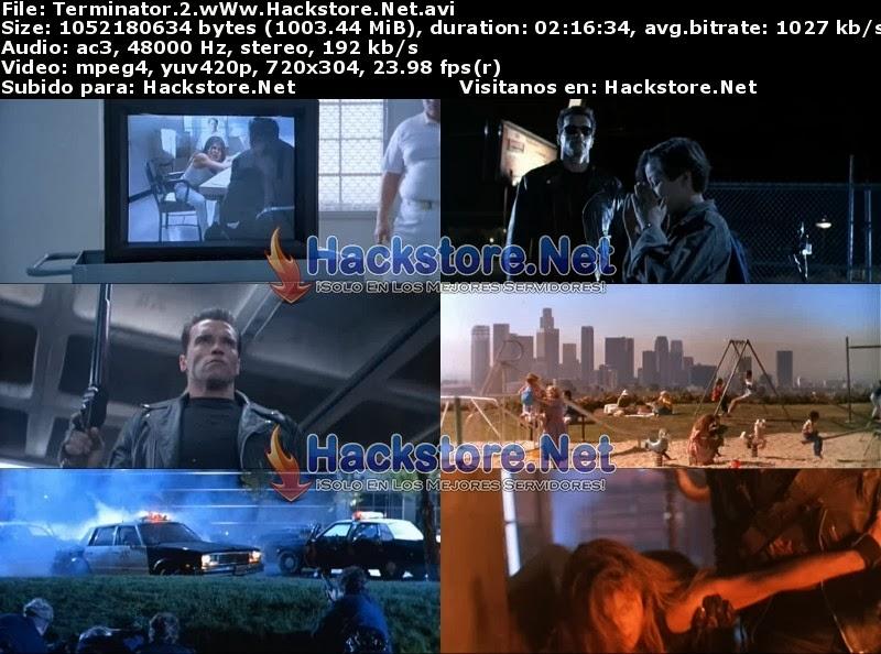 Captura Terminator 2 (1991) Dvdrip Latino