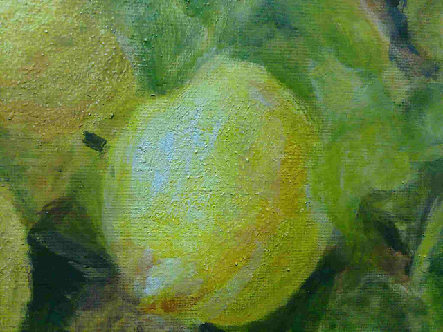 detalle limon con temple a la cola