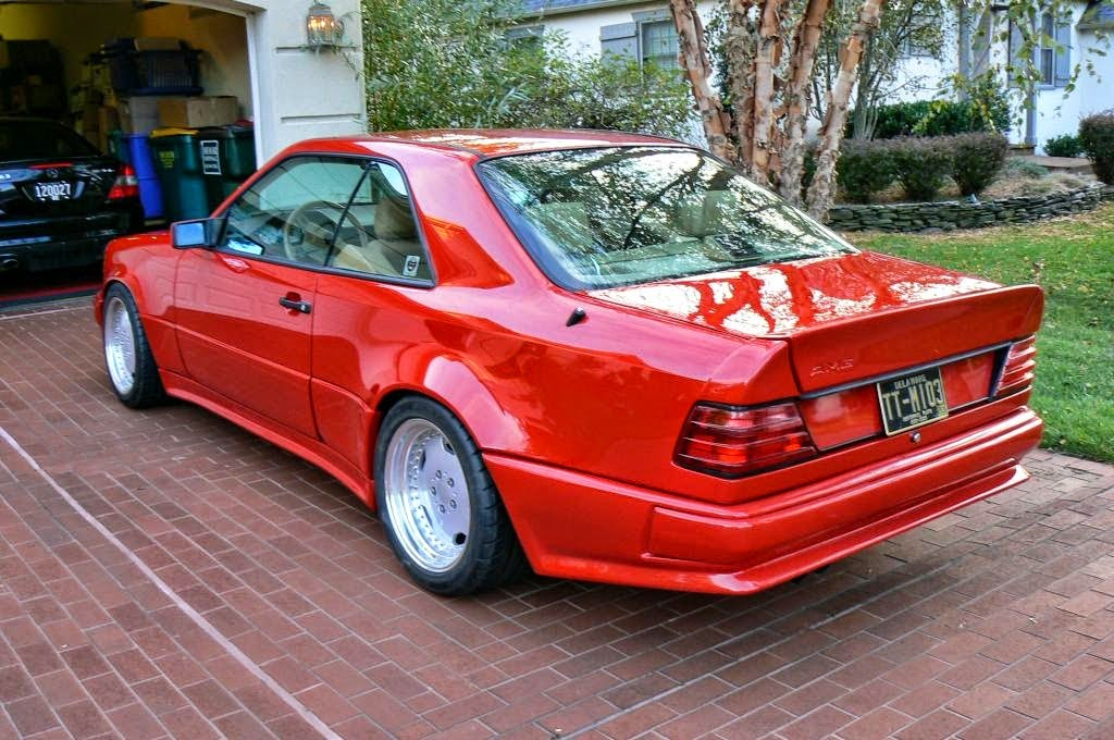 Benztuning Mercedes Benz W124 Coupe Amg Turbo