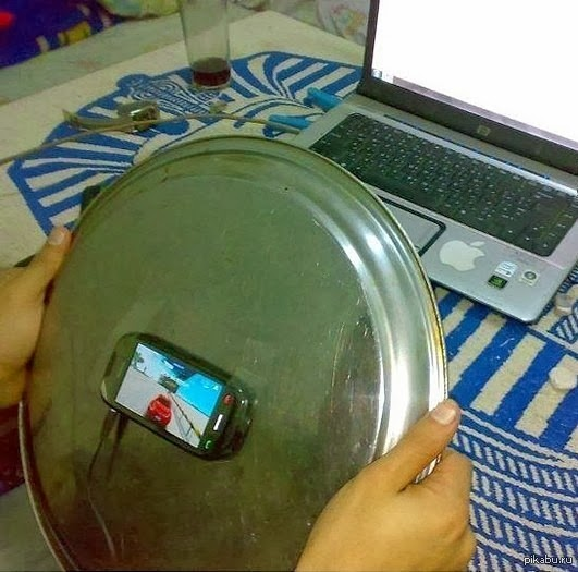 Playing Mobile Game With Plate
