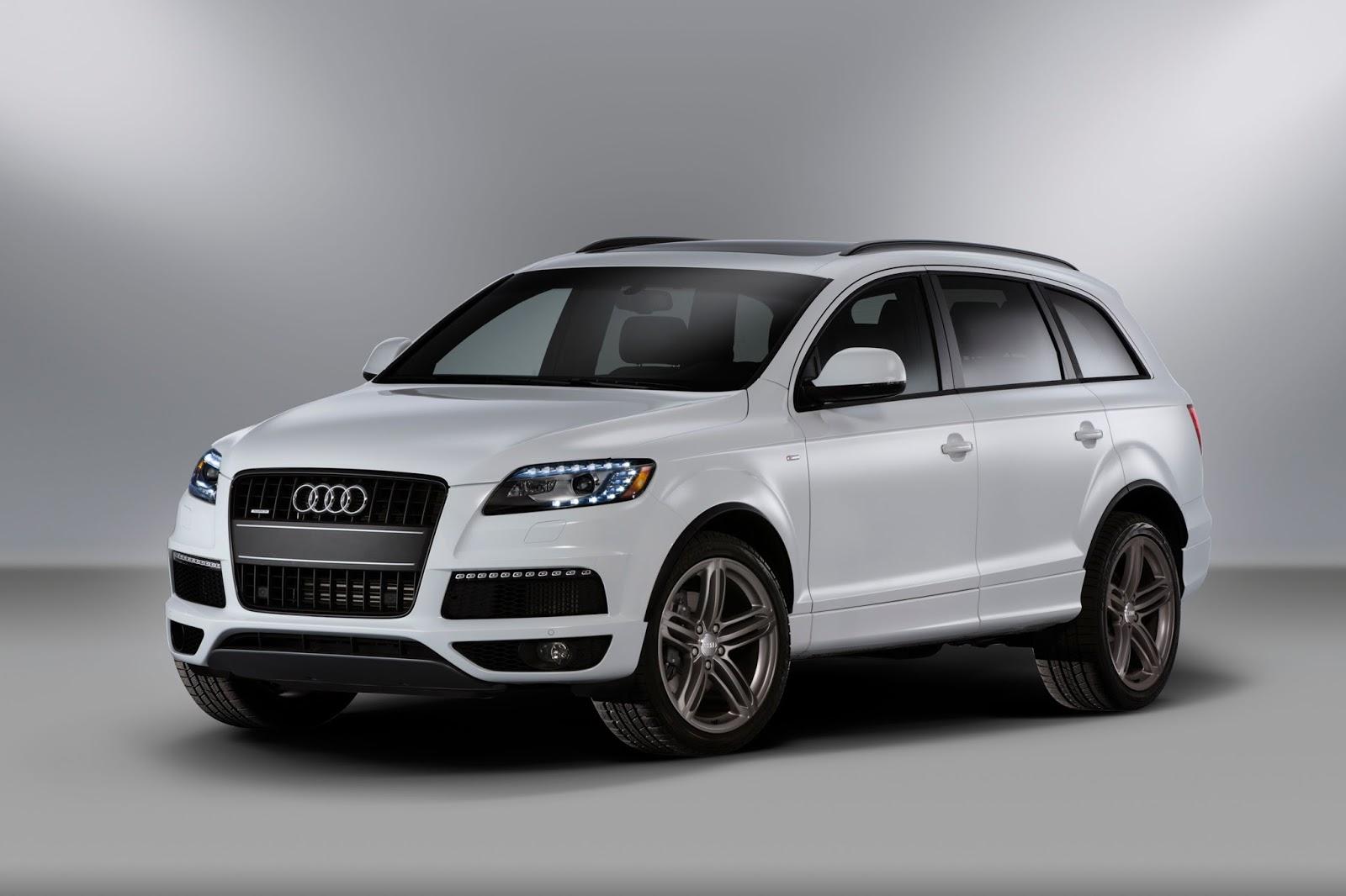 2012 Audi Q7 white