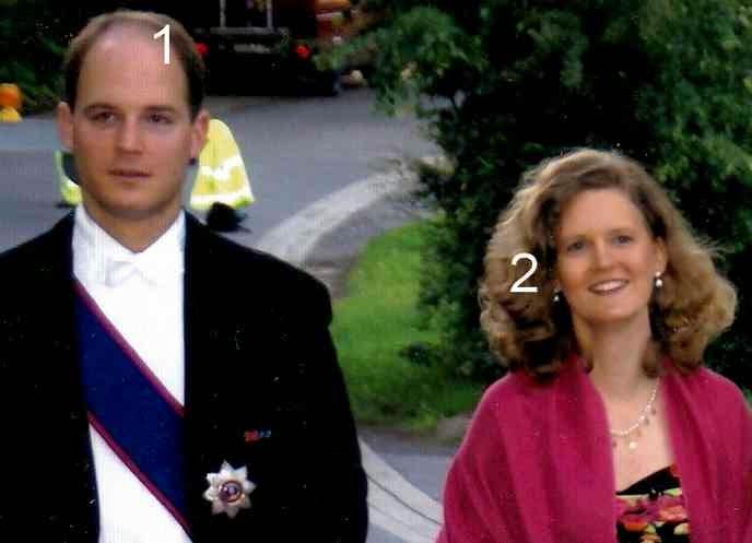 Konstantin et Tatjana d'Oldenbourg-Oldenburg